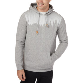 tentree Juniper Capuchon Jas Heren, hi-rise grey heather
